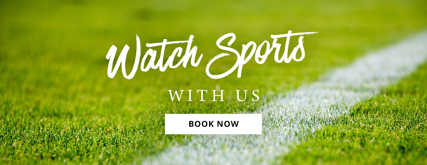Watch Sport at The Green Man