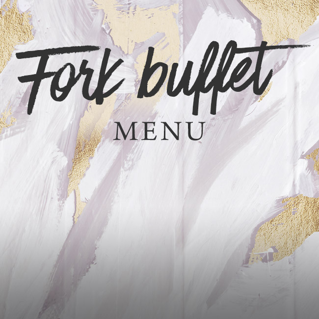 Fork buffet menu at The Green Man